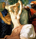 Chasseriau Theodore Esther Preparing to be Presented to King Ahasuerus or The Toilet of Esther