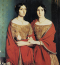 Chasseriau Theodore The Two Sisters