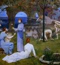 Pierre Puvis de Chavannes Entre lart et la nature detail