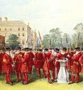 Chevalier Nicholas The Parade Of The Yeomen Of The Guard At Clarence House