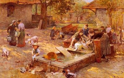 Chialiva Luigi At The Washing Place