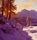 Choultse Ivan Snowy Landscape