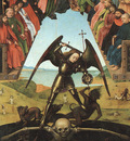 CHRISTUS THE LAST JUDGEMENT, GEMALDEGALERIE, STAATLICHE MUSE