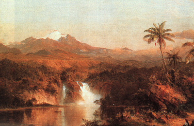 Church Cotopaxi, 1857, oil on canvas, The Art Institute of C