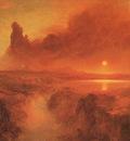 Church Cotopaxi, 1862, oil on canvas, John Astor Collection,