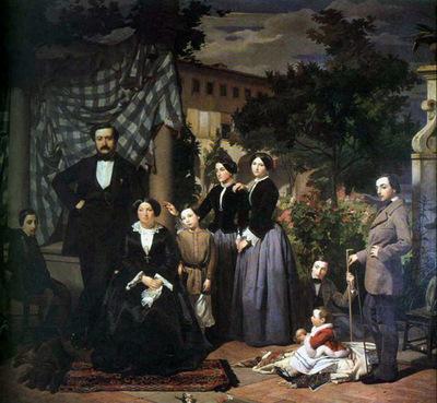 ciseri antonio la famiglia bianchini 1853