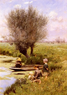 Claus Emile Afternoon Along The River