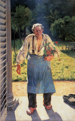 Claus Emile The old gardener Sun