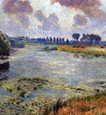 Claus Emile View on the Leie Sun