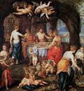 Clerck de H Banquet of the Gods Sun