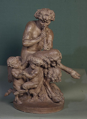 Clodion Group of Satyr and Fauns