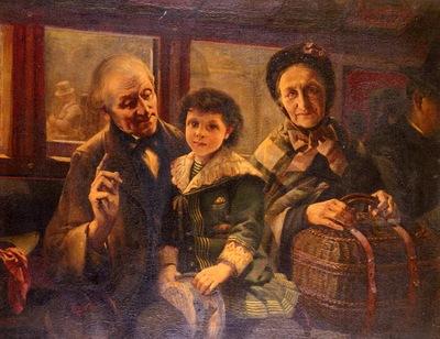 Coeylas Henri On The Omnibus