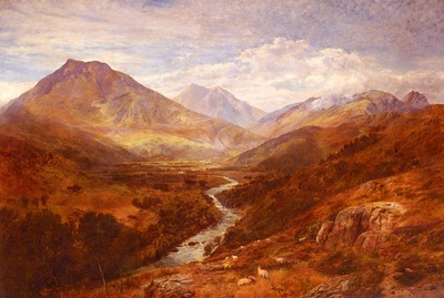 Cole George Vicat A Welsh Landscape