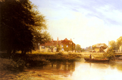 Cole George Vicat The Swan At Pangbourne