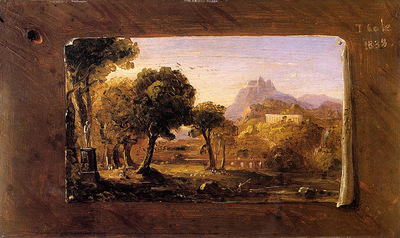 Cole Thomas Study for Dream of Arcadia