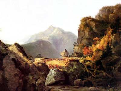 JLM 1827 Thomas Cole Last of the Mohicans
