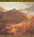 thomas cole the schroon mountains 1833 po amp