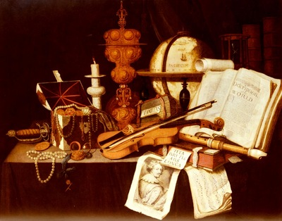 Collier Evert Vanitas Still Life
