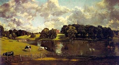 CONSTABLE WIVENHOE PARK, ESSEX, 1816, OIL ON CANVAS
