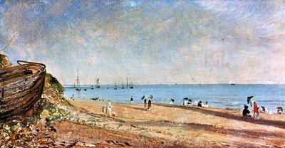 Constable John Brighton beach