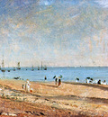 Constable John Brighton beach