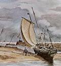 Constable John Fokstone harbour Sun