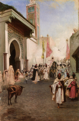 Entrance of Mohammed II