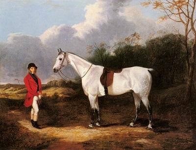 Cooper Abraham Mr Stillwell With His Favorite Hunter