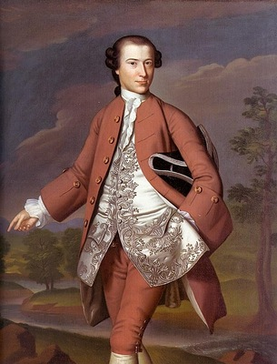 COPLEY THEODORE ATKINSON, 1757 58, OIL ON CANVAS