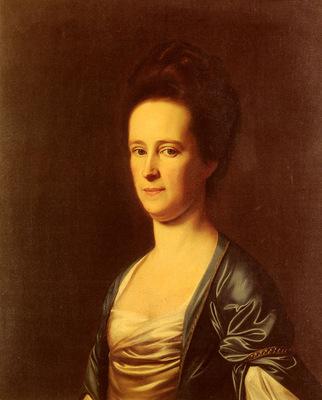 Copley John Singleton Mrs Elizabeth Coffin Amory