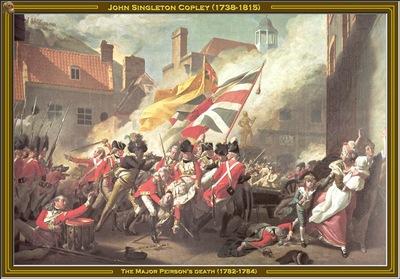 john s copley the major peirsons death 1782 84 po amp