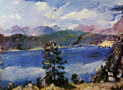 Corinth Lovis Walchenlake Sun