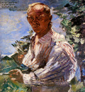 Corinth Lovis Self portrait Sun