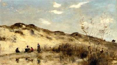 Corot A Dune at Dunkirk