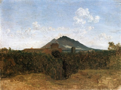 Corot Civita Castellana and Mount Soracte