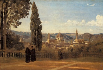 Corot Florence The Boboli Gardens