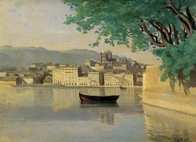 Corot Geneva View of Part of the City