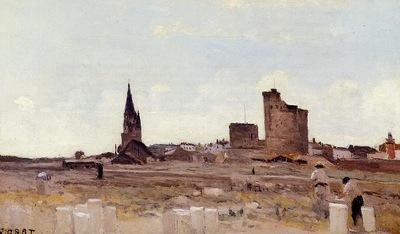 Corot La Rochelle Quarry near the Port Entrance