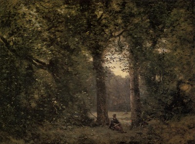 Corot Souvenir of Ville d Avray