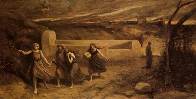 Corot The Destruction of Sodom