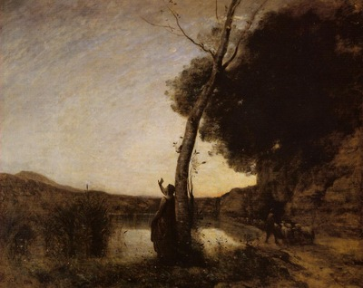 Corot The Evening Star