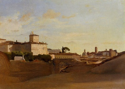 Corot View of Pincio Italy