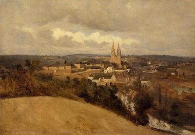 Corot View of Saint Lo