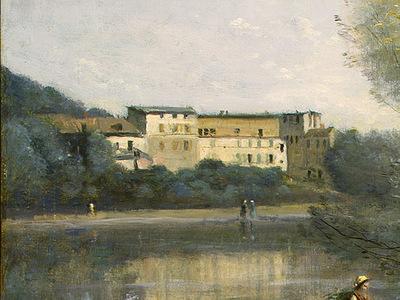 Corot Ville dAvray, c  1867 1870, Detalj 1, NG Washington
