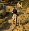 Corot A View near Volterra, 1838, Detalj 3, NG Washington