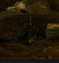 Corot A View near Volterra, 1838, Detalj 5, NG Washington