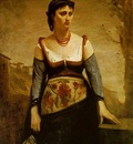 Corot Agostina ca 1866, 132 8x97 6 cm, The National Gallery