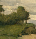 Corot Beach near Etretat, 1872, Detalj 2, NG Washington