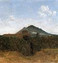 Corot Civita Castellana and Mount Soracte