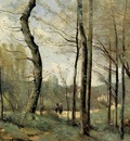 Corot First Leaves near Nantes